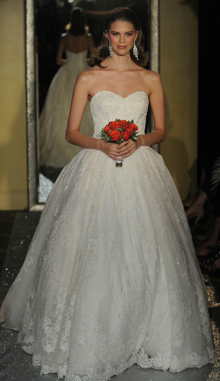 Oleg Cassini at David\'s Bridal Spring 2017: Bridal Fashion Week Photos