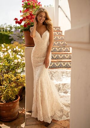 Moonlight Collection J6775 Mermaid Wedding Dress