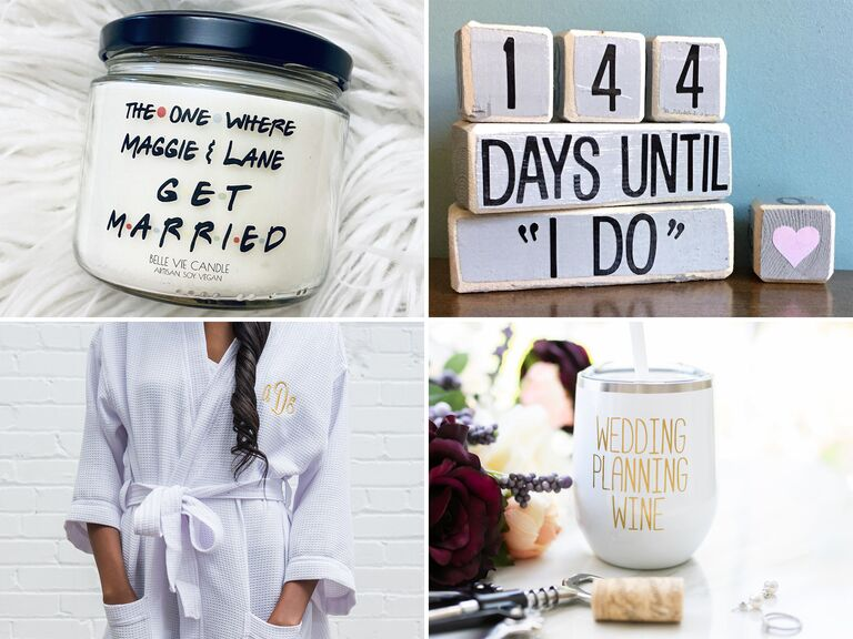 Gift ideas for a newly engaged BFF