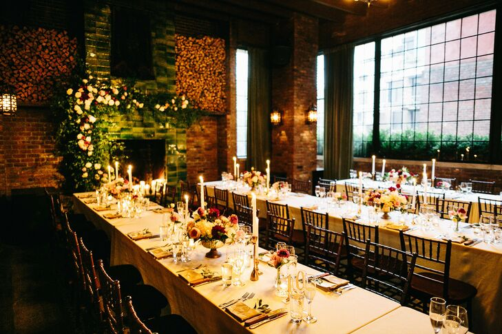 Modern, Industrial Reception at The Bowery Hotel in New York City