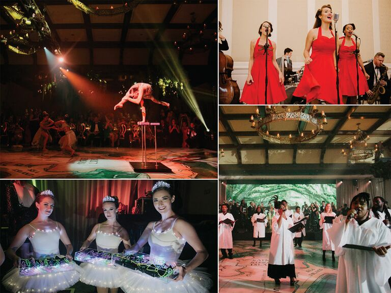 Entertainment trends for weddings