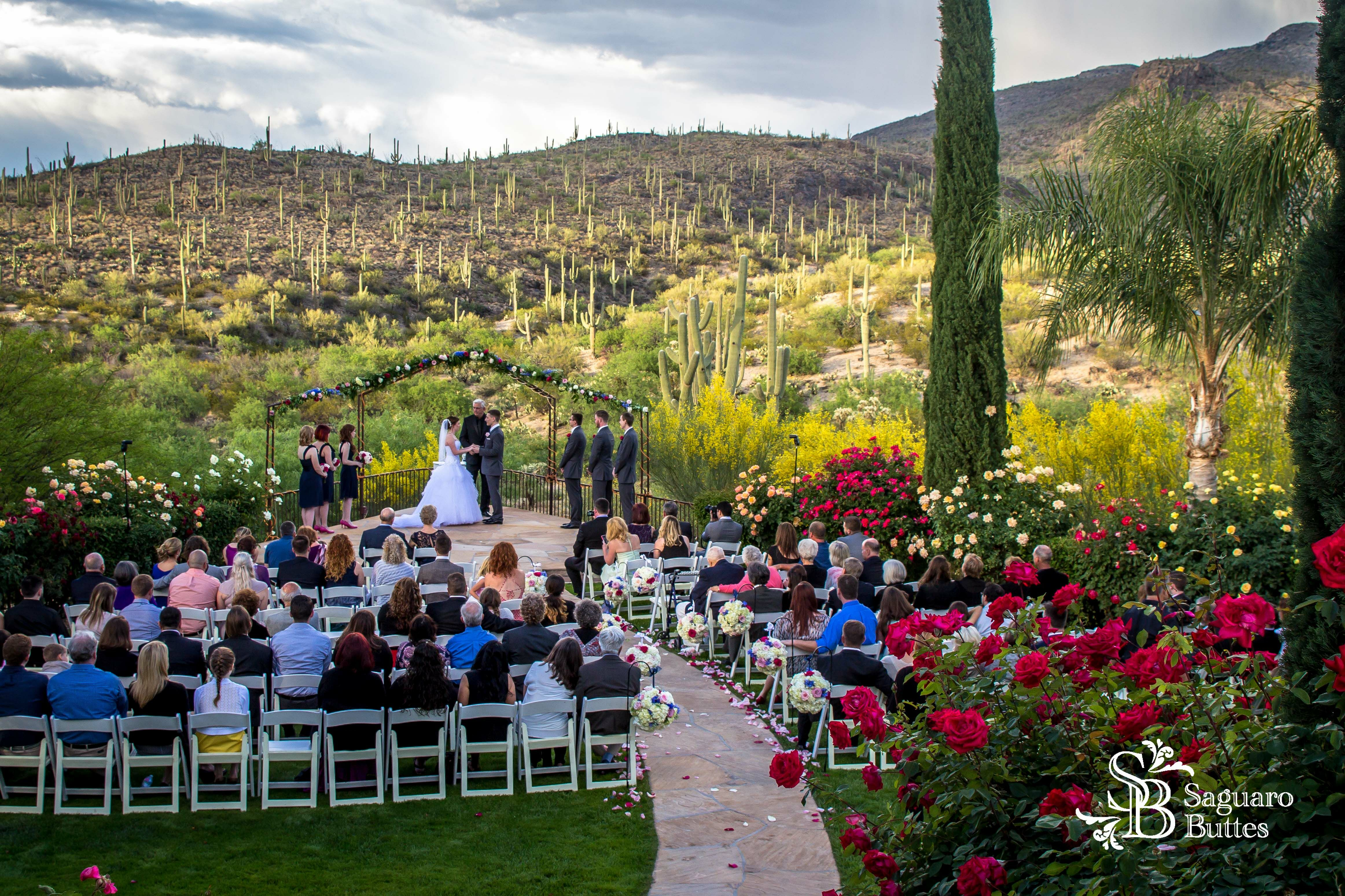 Wedding reception venues in tucson az the knot saguaro buttes junglespirit