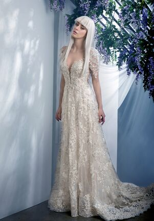 Ysa Makino KYM177 Sheath Wedding Dress