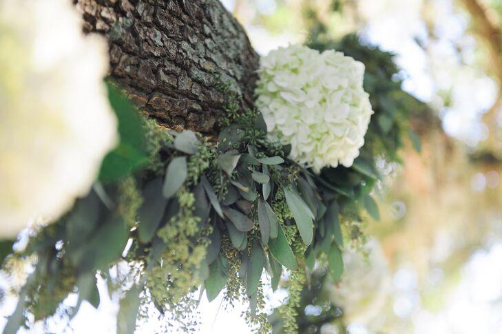 Lush Hydrangea And Eucalyptus Garland