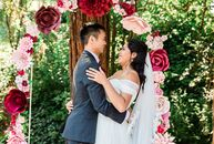 Alma Martinez and Don Pham's summer wedding was a bright, fusion affair that paid tribute to their Vietnamese and Mexican heritages and their love of