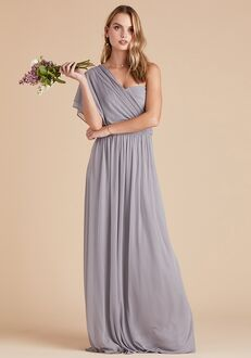 Birdy Grey Chicky Convertible Dress in Silver Strapless Bridesmaid Dress