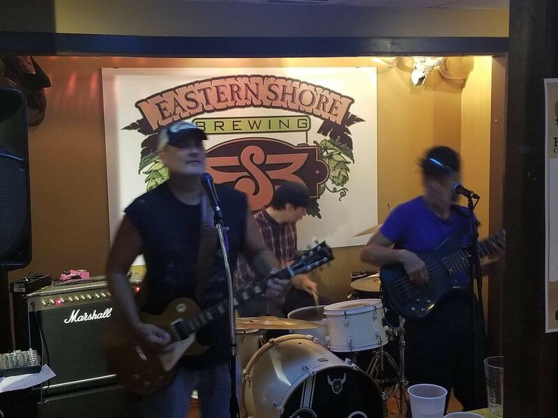 Eastern Shore Brewing. Great crowd.