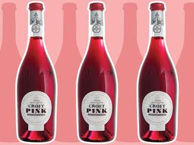 Croft Pink Rosé Port wine