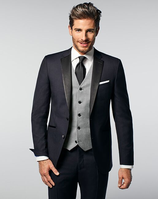 Men's Wearhouse Joseph Abboud Custom Tuxedo Black, Blue, Brown, Champagne, Gray, Silver, Ivory, White Tuxedo