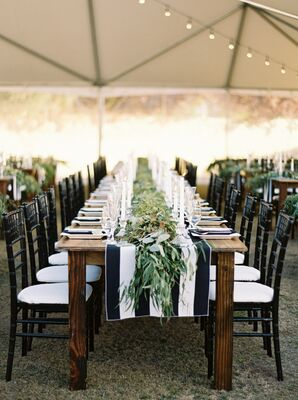 Wooden Banquet Tables
