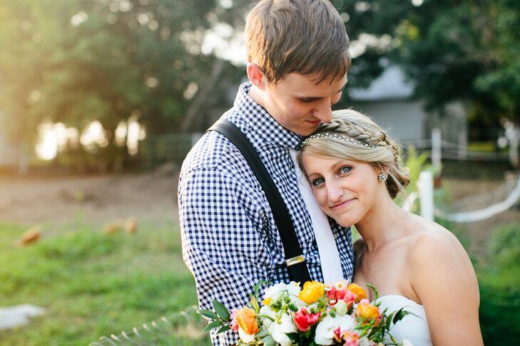 Flower-Inspired Crystal Bridal Wedding Earrings