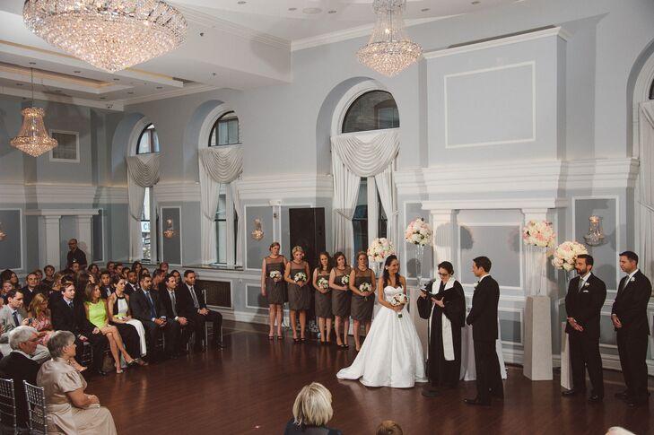 Ceremony at the Arts Ballroom