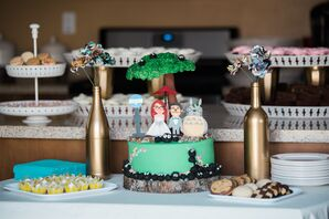 Personalized Anime Cake Topper