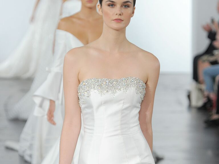 Dennis Basso for Kleinfeld Fall 2018 Collection: Bridal Fashion Week Photos