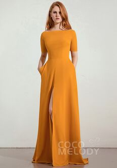 CocoMelody Bridesmaid Dresses CB0280 Bateau Bridesmaid Dress