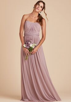Birdy Grey Chicky Convertible Dress in Mauve Strapless Bridesmaid Dress