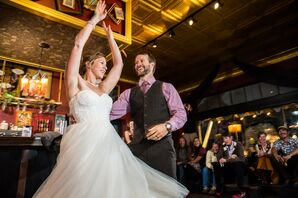 A Romantic First Dance in Crested Butte