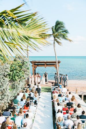 Beach Waterfront Ceremony at The Caribbean Resort