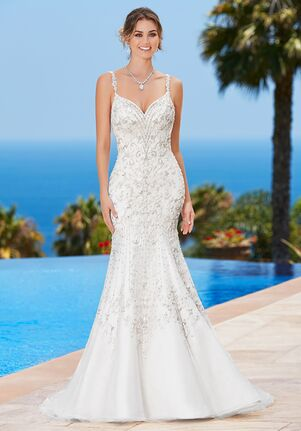 KITTYCHEN Couture PAULETTA, K1748 Sheath Wedding Dress