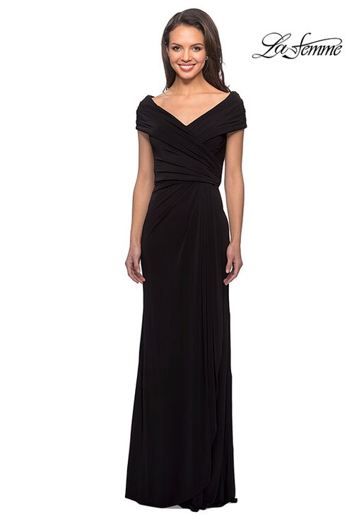La Femme Evening 26519 Black Mother Of The Bride Dress