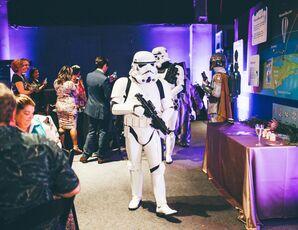 Star Wars Storm Troopers at Florida Wedding