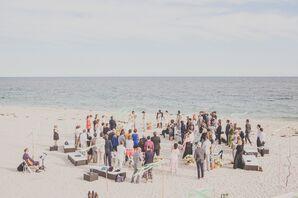 Aubrey and Andrew Intimate Beach Wedding Ceremony