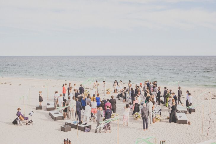 Aubrey and Andrew Intimate Beach Wedding Ceremony
