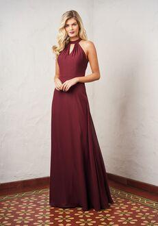 JASMINE P216056 Halter Bridesmaid Dress