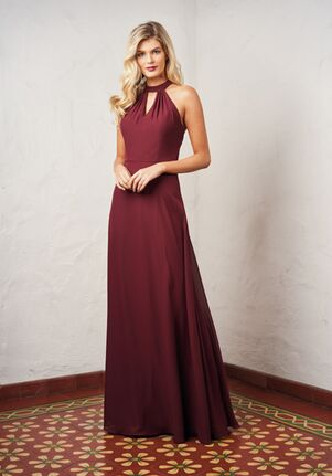 JASMINE P216056 Halter Bridesmaid Dress