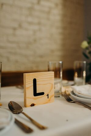 Scrabble Letter Table Numbers