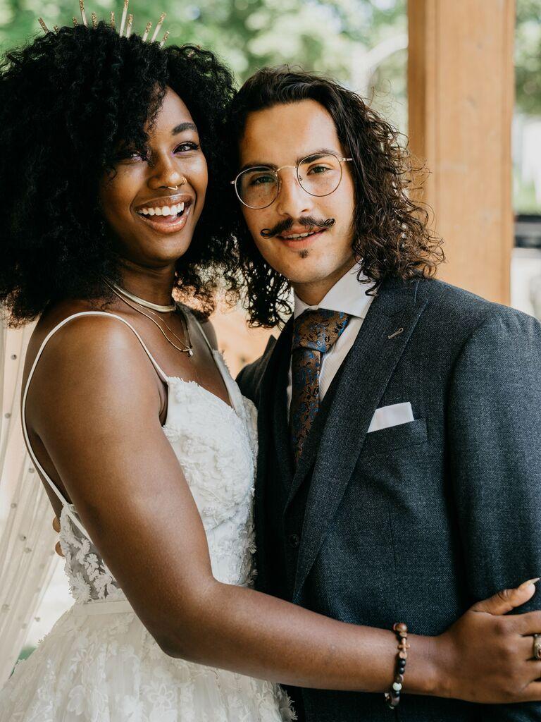 men's wedding haircut natural curls