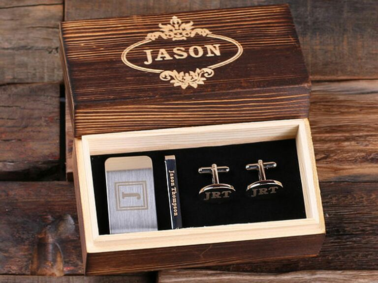 Men's accessory set 17th anniversary gifts