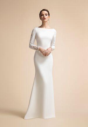 Moonlight Modesty M5022 Mermaid Wedding Dress