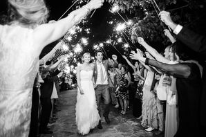 Ruffled Liancarlo Wedding Dress