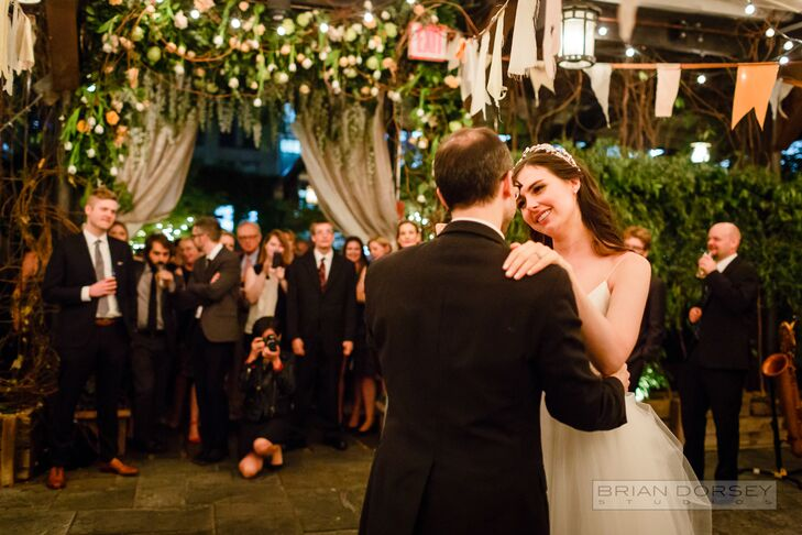 First Dance at Gallow Green at The McKittrick Hotel, New  York