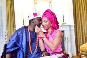 Vibrant Traditional African Wedding Attire