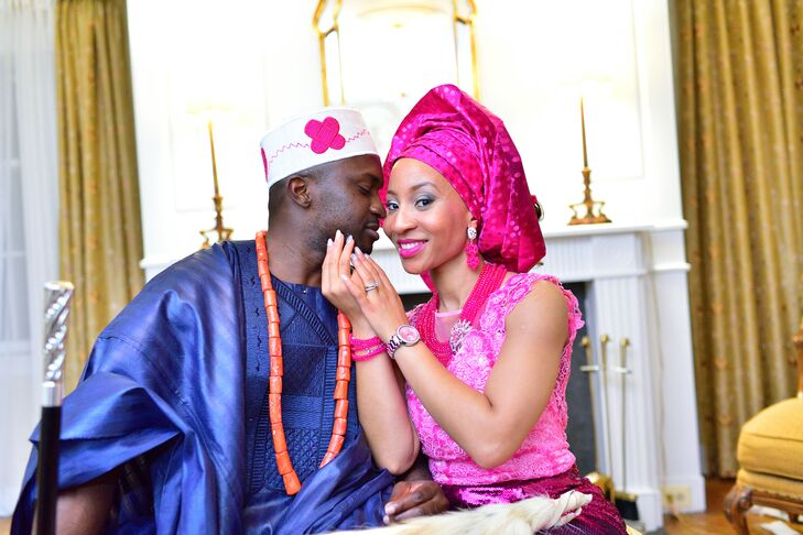 Vibrant Traditional African Wedding Attire