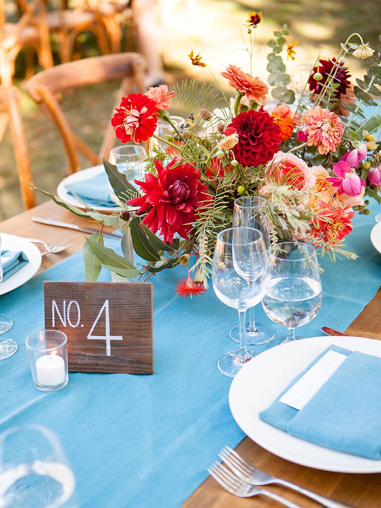 Bright Summer Wedding Colors