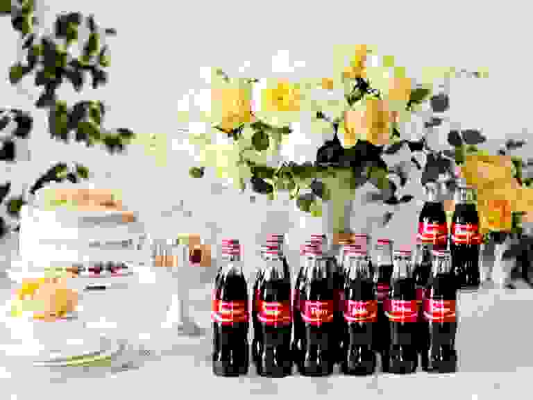 Share a Coke wedding favors