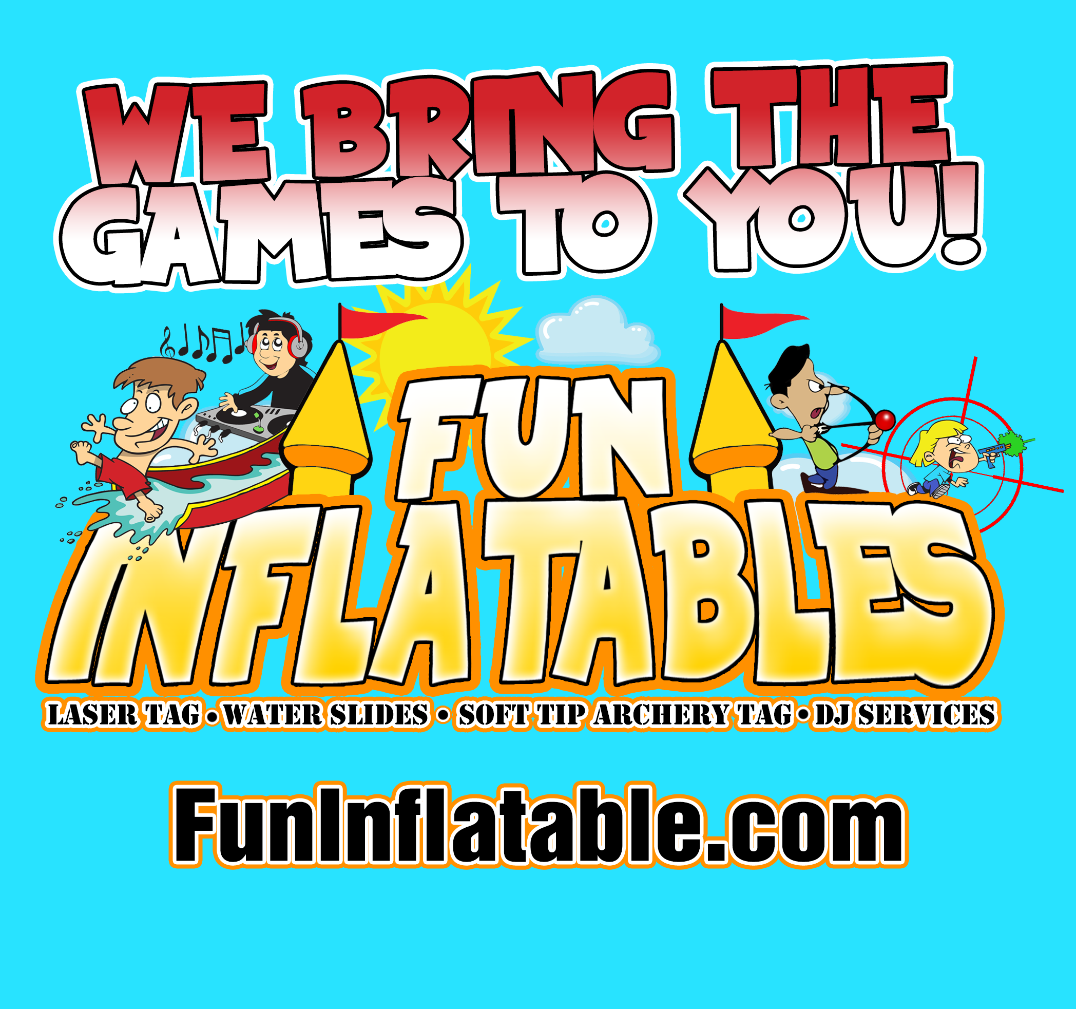 Fun Inflatables & DJ service & mobile Laser Tag  - Party Inflatables - Fort Worth, TX