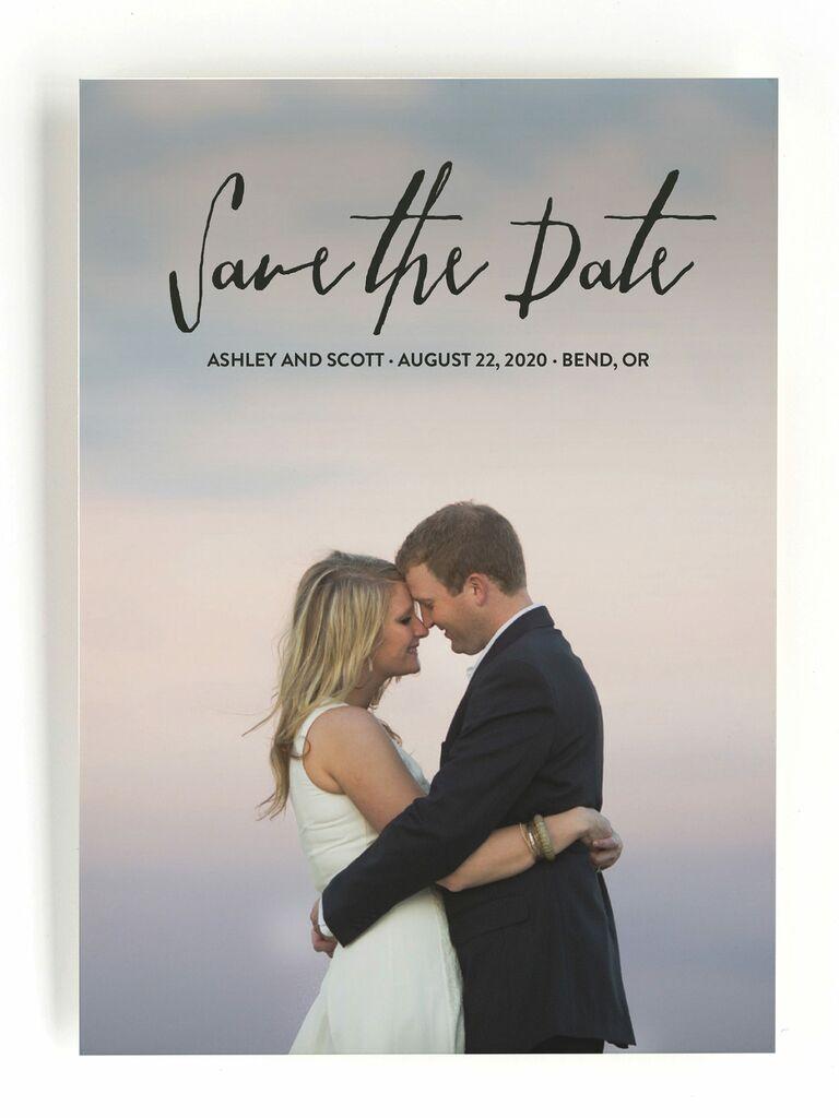 Everlasting save-the-dates