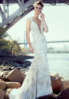Stephen Yearick KSY88 Sheath Wedding Dress