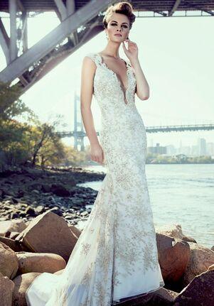 Stephen Yearick KSY88 Sheath Wedding Dress