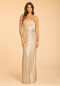 Hayley Paige Occasions 52008 Scoop Bridesmaid Dress