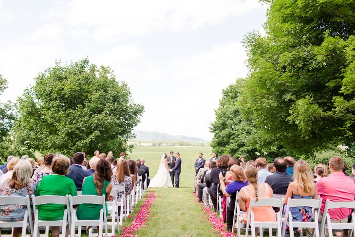 Outdoor Greenbrier Resort Ceremony