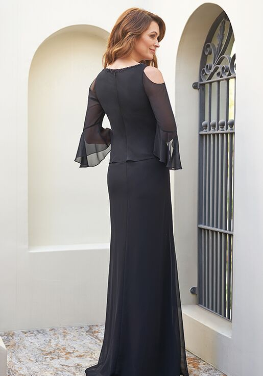 Jade Mother of the Bride by Jasmine J205055 Black Mother Of The Bride Dress