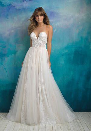 Allure Bridals 9505 A-Line Wedding Dress