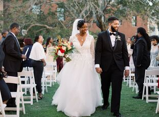 "LaToya and Elliott, ""wanted a wedding worthy of an oil painting's depiction; one that is timeless and worth reveling for generations to come. From thi"