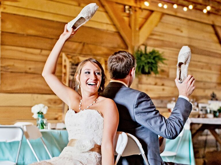 Funny questions to ask a bride and groom
