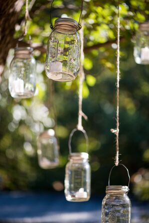 Hanging Mason Jar Lighting